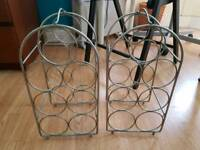 X2 wine rack holders