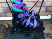 Inline skates size 7 (adult)