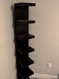 Black IKEA Shelf