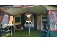 2001 Conway Mirage 6 Berth Trailer Tent