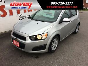 2015 Chevrolet Sonic LT Auto BACK UP CAMERA, HEATED SEATS, BL...