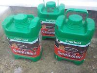 3 x Cuprinol Spray Fence Treatment Forest Oak 5 Litre