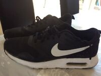 Black Nike Air trainers