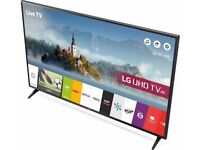 "BRAND NEW BOXED LG TV NEW 2017 MODEL 49"" INCH MODEL NUMBER 49UJ630V ULTRA HD 4K UNWANTED GIFT"