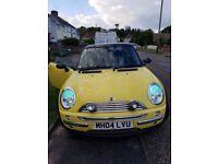 Mini Cooper 04 Reg Yellow Very Good Condition