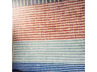 "Colourful carpet 73x71"" (186x180cm)"