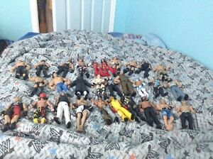 Wwe figures and other stuff