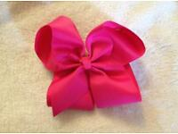 *New* 6 inch Dark Pink Hair Bow