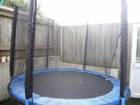 8ft Woodworm Trampoline