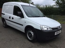 Vauxhall combo 61 plate - 79k miles fsh - one off condtion