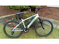 Apollo Phaze Mountain Bike in nearly new condition,Gears and Brakes in full working order,LightFrame