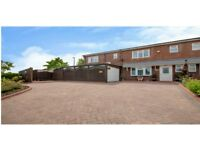 4 bed Semi-detached House, garage, 4/5 car driveway, 2 bed detached guest lodge, garden rm, spa, gym