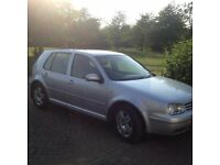 Golf Mk 4 1.9 TDI 2001 5 dr 6 speed Manual