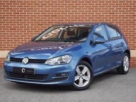 2014 64 Volkswagen Golf 1.6 TDI BlueMotion Tech Match Hatch (Blue, Diesel)