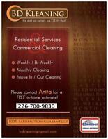 Call In House Cleaning
