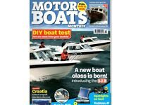 Motor Boat Magazines. From 1996 to 2009. 170 in total