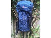 Berghaus backpack 45 + 8l