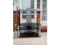 Glass Flatscreen TV stand