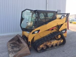 2012 CATERPILLAR 259B3 SKID STEER LOADER-CAB WITH HEAT AND A/C