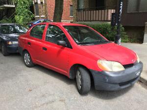 2002 Toyota Echo à vendre!