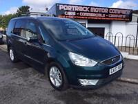 Ford galaxy 2.0tdci gia 2007 7 seater TVs in head rest