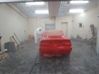 Experienced car paint sprayer wanted SE London. All paints used and vehicles repaired