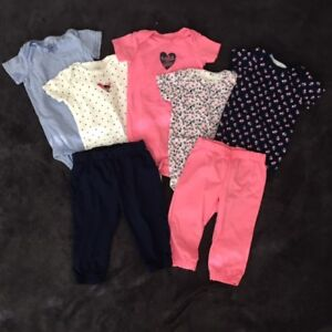 Multiple Girls Carters Outfits (9M)