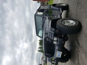 2000 Jeep TJ Sport sale or trade