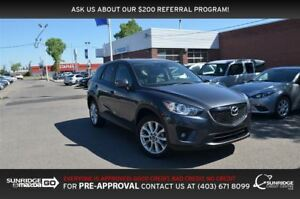 2015 Mazda CX-5 GT, LEATHER, BACKUP CAM, NAVIGATION