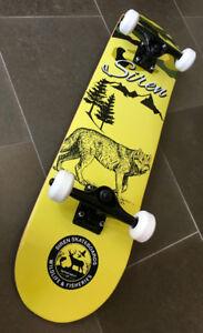 Siren Skateboard 'Wildlife Wolf' BRAND NEW