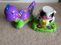 Baby toys - letter dinosaur and vetch stack and discover animals