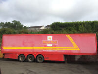 3 OF EX ROYAL MAIL TRAILERS 45 FEET