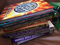 10 x Guinness World Record Books Hardback - Fantastic condition