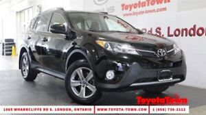 2015 Toyota RAV4 AWD XLE MOONROOF ALLOYS BACKUP CAMERA