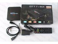 ANDROID TV BOX 4K PRO (5 in stock)