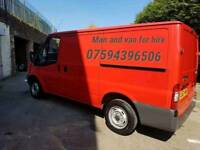 man and van for hire fast friendly service