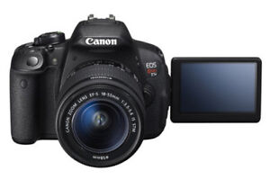 Canon T4i + Canon 40mm 2.8 Lens + Battery Grip + more
