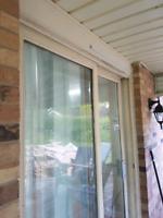 Replace sliding patio door