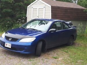 2004 Honda Civic dx Coupe (2 door)