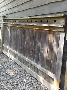 Solid wood fence piece - 11' x 6'