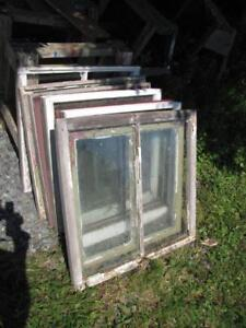 12 Wooden Windows For Sale