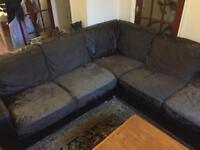 Large L-shaped sofa