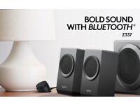 🎶 Logitech Z337 80W Wireless Speakers Bluetooth with Subwoofer 🎶