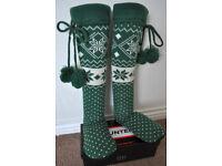 New Hunter slipper socks Medium size 3-5