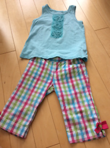 Girls Gymboree/children's place outfit size 3/4