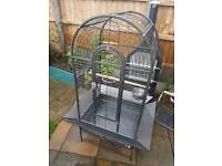 Large Bird Parrot Cage Dome Open Top Liberta