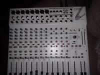 Titan 12 Speakers + Wharfedale R2400FX Mixer