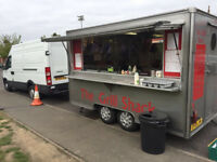Catering / Burger Van with Pitch For Sale