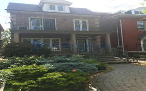 UPGRADED 5 BED/3.5 BATH HOUSE FOR RENT @ TORONTO   LITTLE ITALY