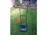 """Black and decker lawnmower 12"""" cut only £12"""